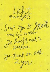 foto lichtpuntjes
